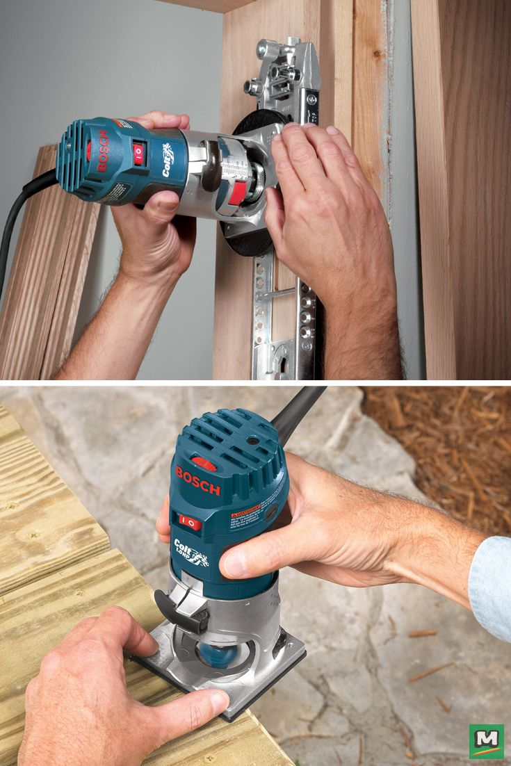 The Bosch Colt 1 0 Hp Variable Speed Palm Compact Router Kit Puts Routing Power And Precision Right Router Accessories Router Bit Set Power Tool Accessories
