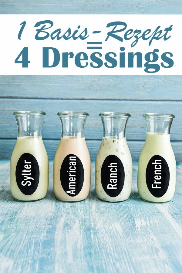 Photo of Sylter, American, Ranch & French Dressing – 1 Basis-Rezept