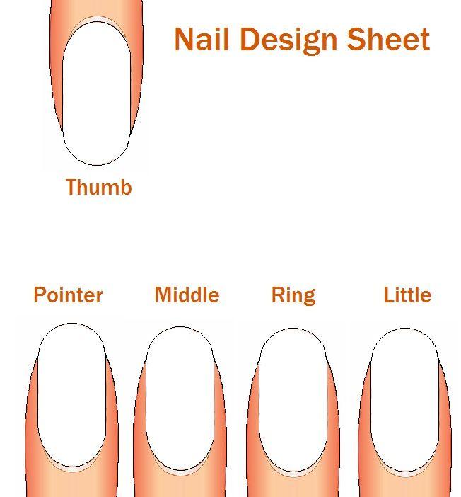 Nail art practice sheet | Makeup & Nails | Pinterest | Makeup