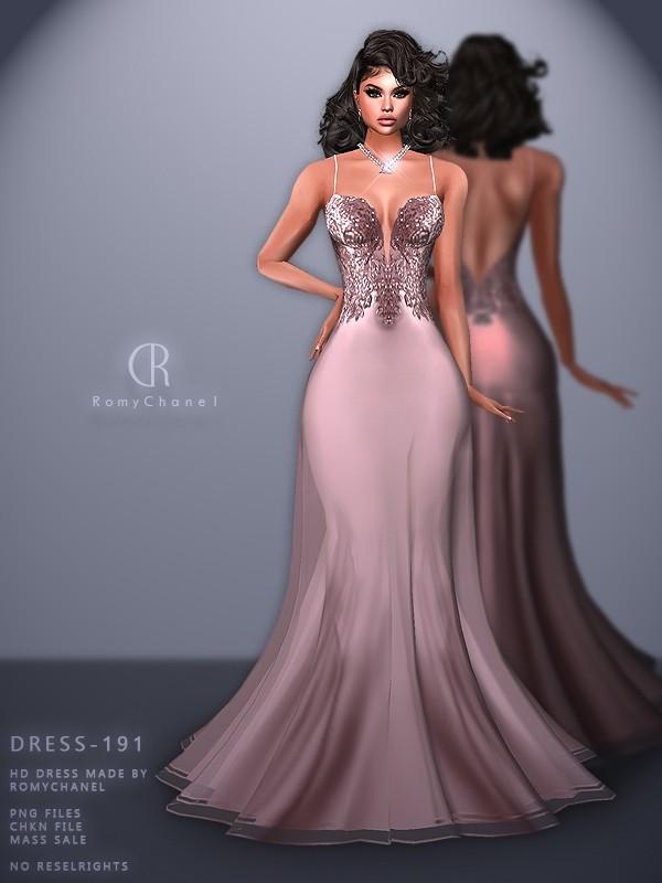 Rc Dress 191 Sims 4 Wedding Dress Dresses Sims 4 Mods Clothes