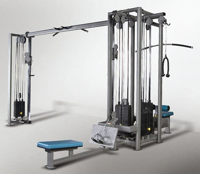 Commercial Gym Equipment Manufacturers In Delhi: Does Your Gym Have A Multi Station Piece Of Gym Equipment