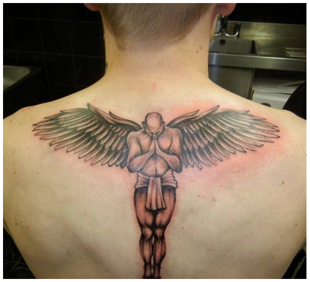 18 Creative Angel Wing Tattoos With Meaning
