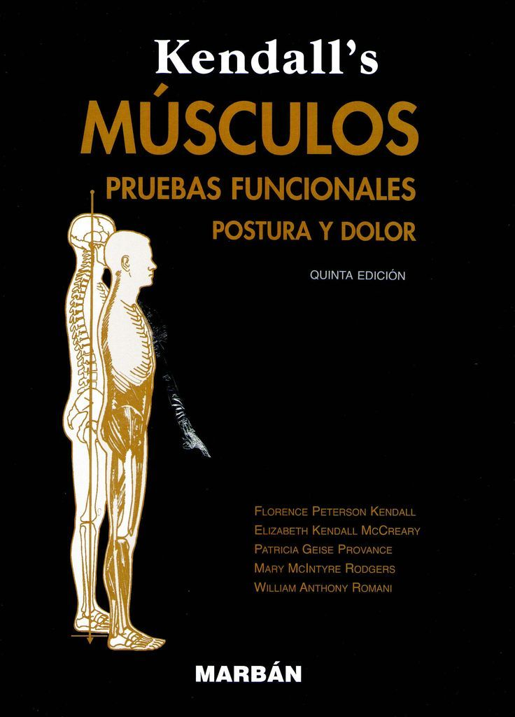 Kendall\'s músculos : pruebas funcionales, postura y dolor / Kendall ...