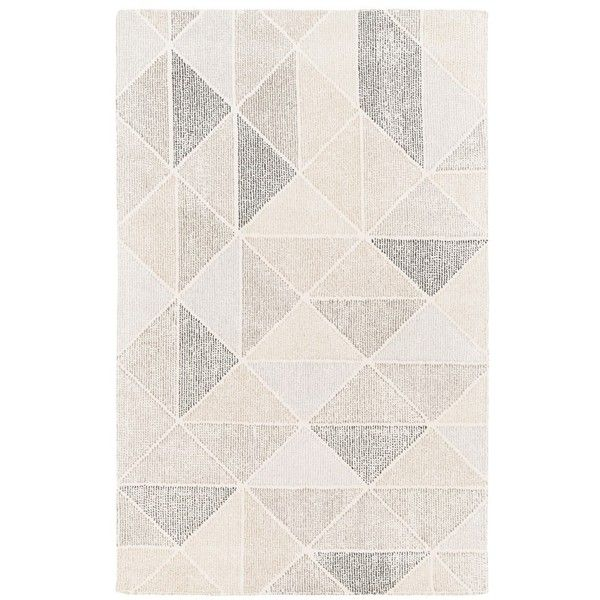 Surya Home Pyramid Wool Rug 5 730 Inr Liked On Polyvore Featuring