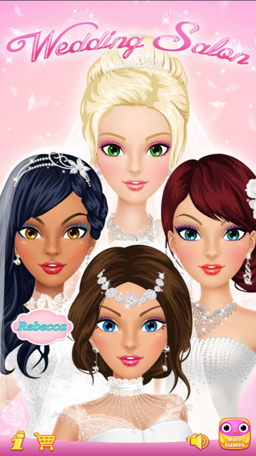 Wedding Salon Girls Makeup, Dressup and Makeover