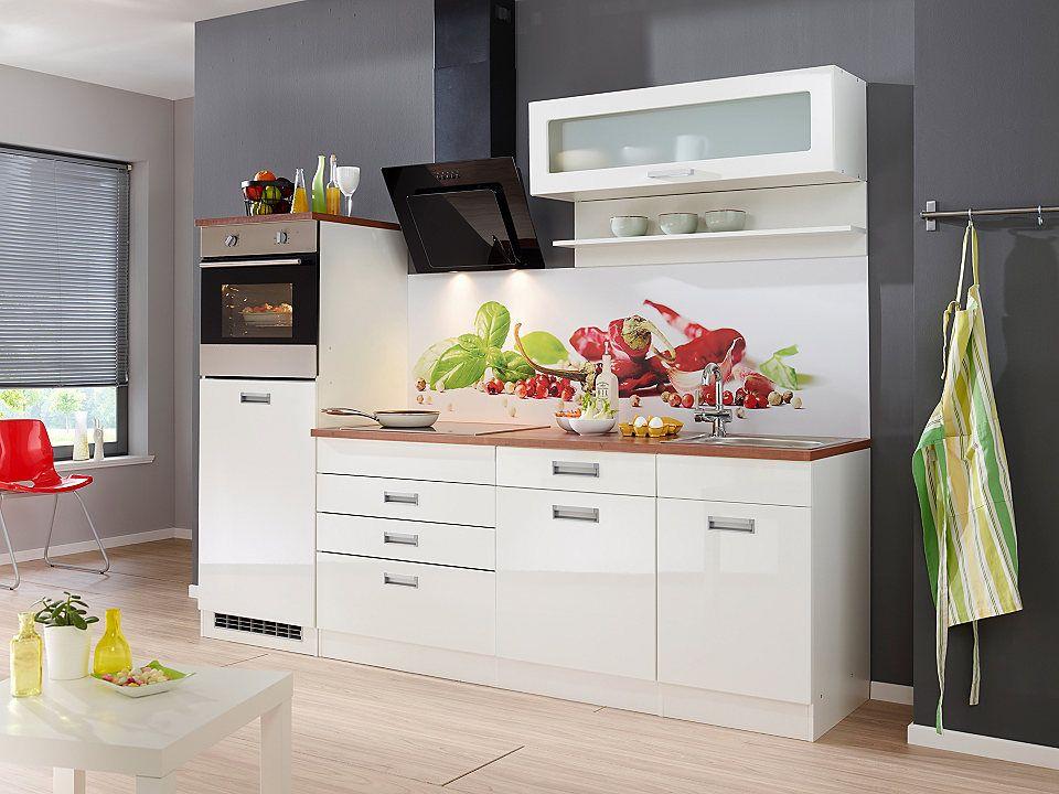 Küchenzeile ohne E-Geräte »Fulda, Breite 240 cm« Jetzt bestellen - küchenzeile 160 cm