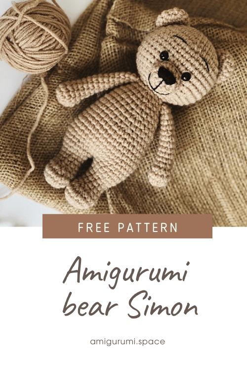 Photo of FREE crochet bear pattern