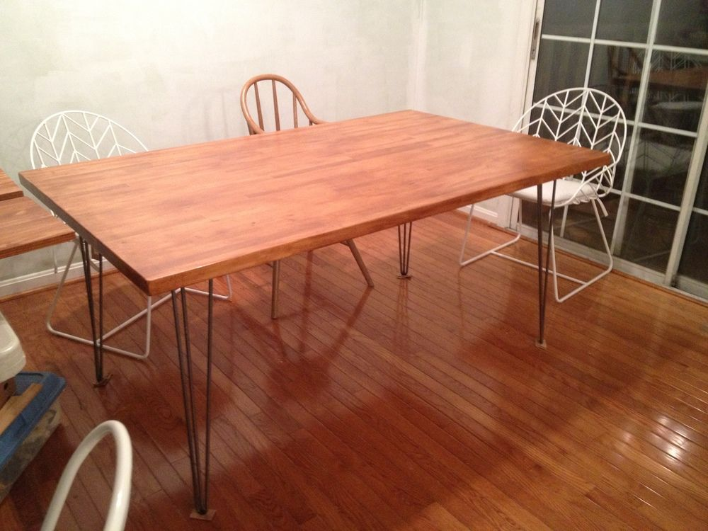 Captivating Tables And Meltdowns. Butcher Block ...
