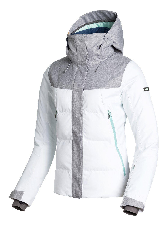 802c906f3c Flicker - Snowboard Jacket with Biotherm   Snowboarding   Roxy ski ...