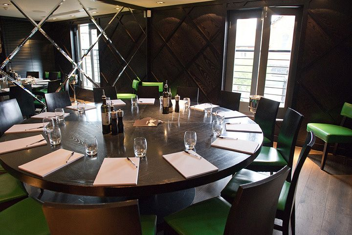 Private Dining Room At Piccolino's Restaurant Hale Commercial Mesmerizing Restaurant Dining Room Tables Inspiration