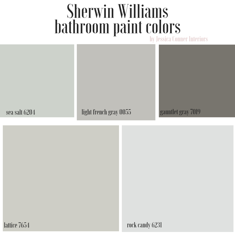 Top 5 Sherwin Williams Bathroom Paint Colors Jessica Conner Bathroom Paint Colors Sherwin Williams Best Bathroom Paint Colors Bathroom Paint Colors