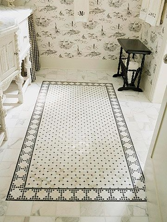 30 Artistic Mosaic Ideas Beautiful Tile Floor Bathroom Flooring Beautiful Tile