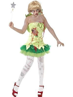 #Zombie fairy #costume- #adult woman outfit halloween fancy dress,  View more on the LINK: http://www.zeppy.io/product/gb/2/121836892861/