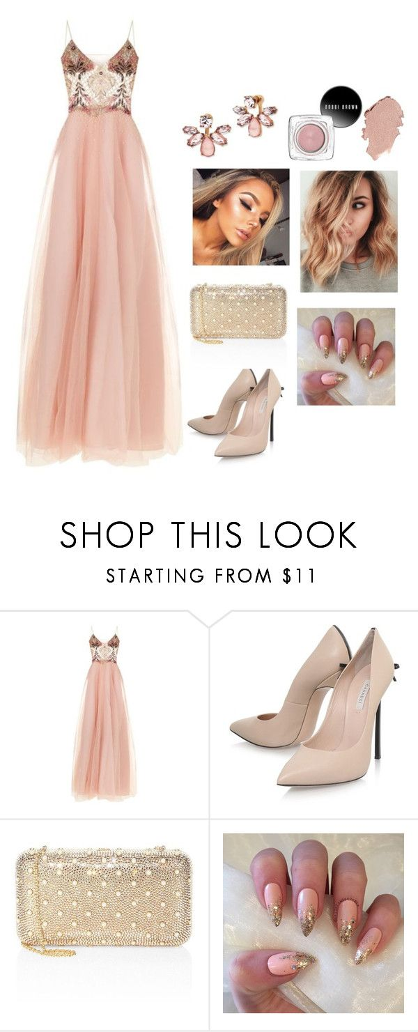 """royal ball"" by lovemewhiteside on Polyvore featuring Patricia Bonaldi, Casadei, Judith Leiber and Marchesa"