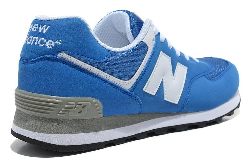 New Balance NB 574 Five Rings series White royal Blue For Men sh ... b3633dad6c6f