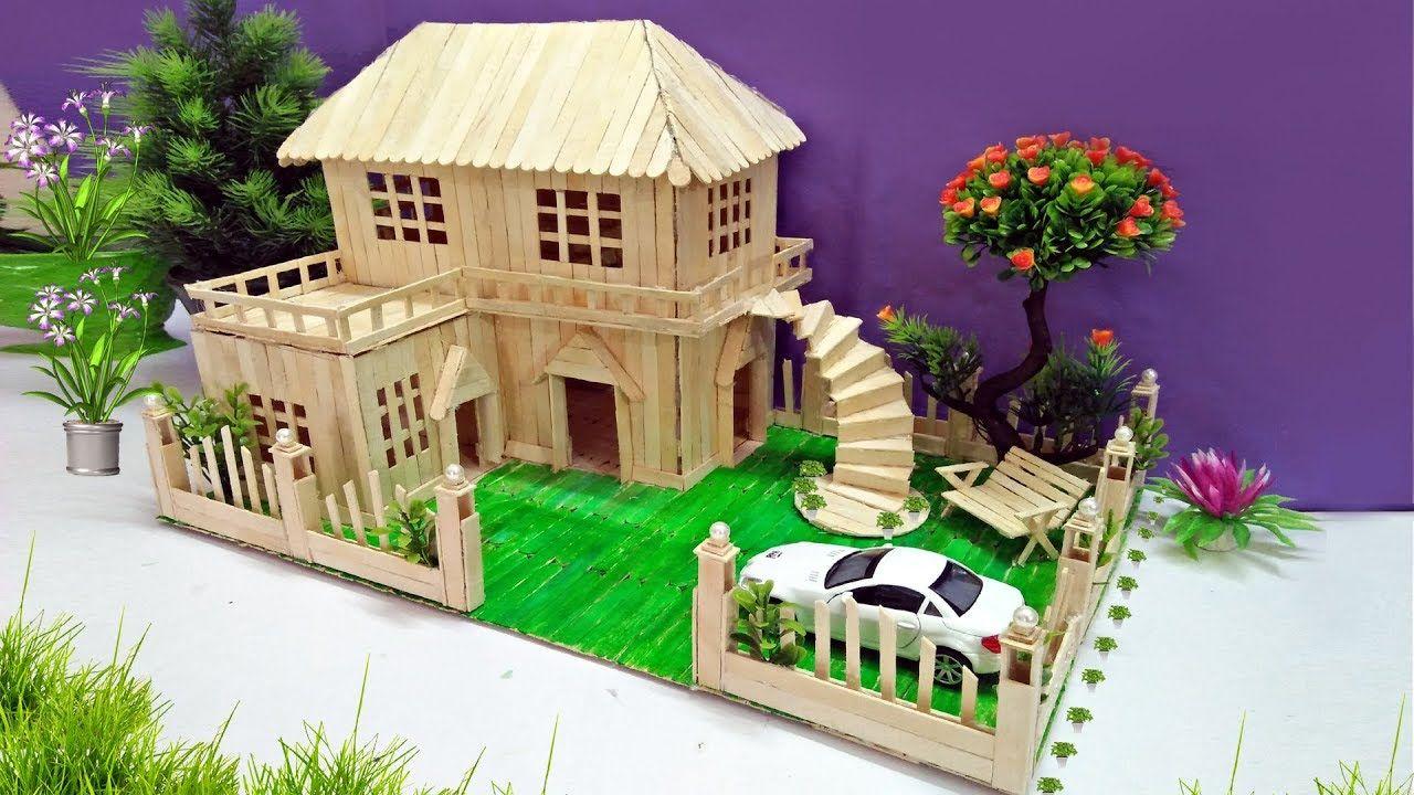 Popsicle House Building Popsicle Garden Villa Dreamhouse
