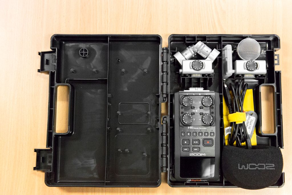Field Recording Kit (Zoom H6) | Music, Instruments etc