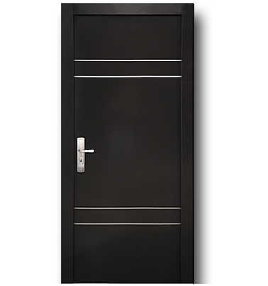 Xe puertas de seguridad 10 900 con dise os minimalistas for Puertas de madera interiores minimalistas