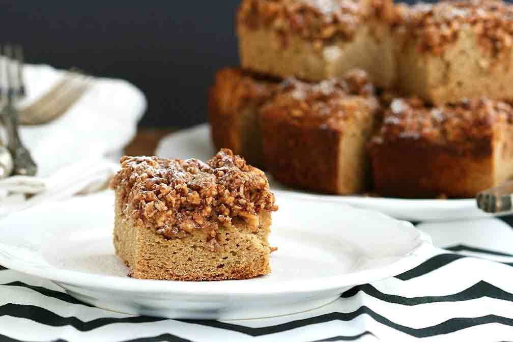 Apple And Olive Oil Cake With Maple Icing Recipe Apple Coffee