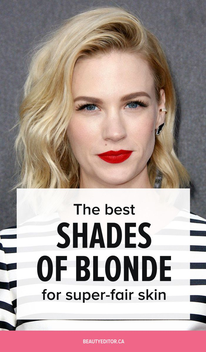 Ask A Hairstylist The Best Shades Of Blonde For Fair Skin