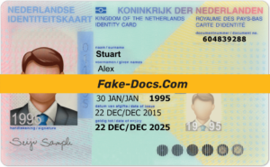 Netherlands Id Card Psd Template In 2021 Psd Templates Templates Id Card Template