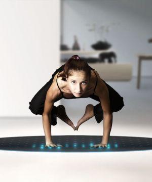 High Tech Yoga Mat Intelligent Fitness Gear Yoga Yoga Training Mat Exercises