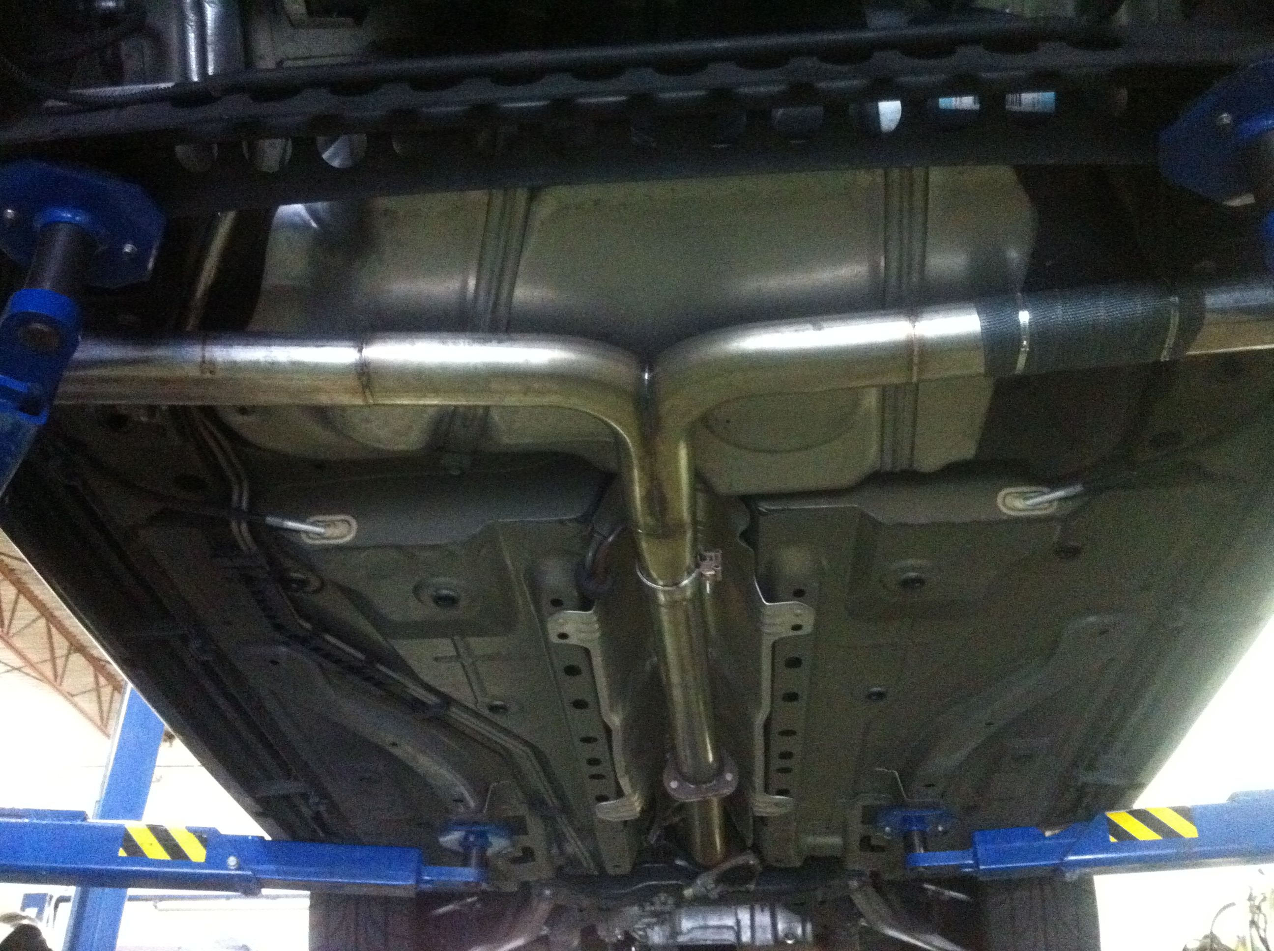 pin on exhaust