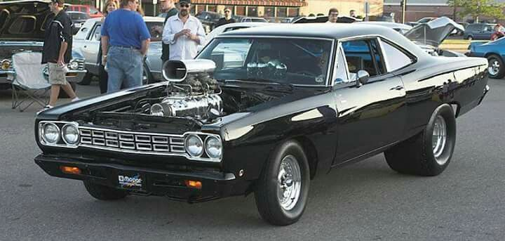 Blown 1969 Plymouth Road Runner Hot Rods Cars Muscle Mopar Muscle Cars Mopar Muscle