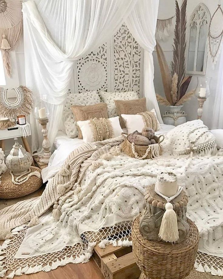 adorable Bboho Bbedroom Bideas B  - Luvne.com #bohemianbedrooms