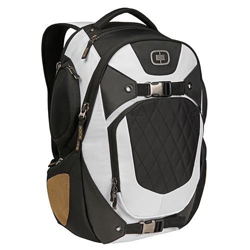 Ogio Squadron RSS II Celebrity White Backpack w/ Laptop ...