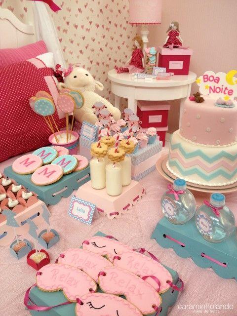 8fe4258d551485 Festa Pijama | Sleepovers | Festa do pijama decoração, Ideias para ...