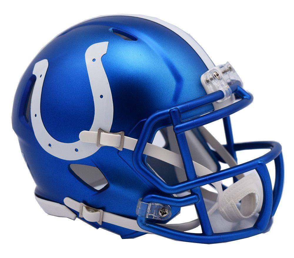 dc572c83 Indianapolis Colts Riddell Blaze Alternate Speed Mini Helmet | Great ...