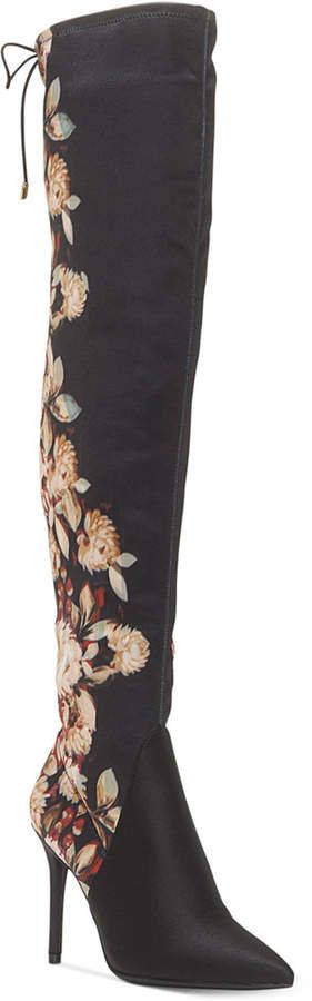 094699e28941 Jessica Simpson Lessy Over-The-Knee Dress Boots Women s Shoes ...