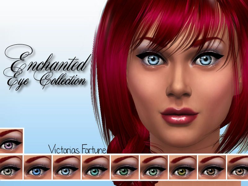 Here are 10 new eyes to enchant your sims, each with a delicate color and a soft reflection.   I hope you enjoy them!  Found in TSR Category 'Sims 4 Eye Colors'