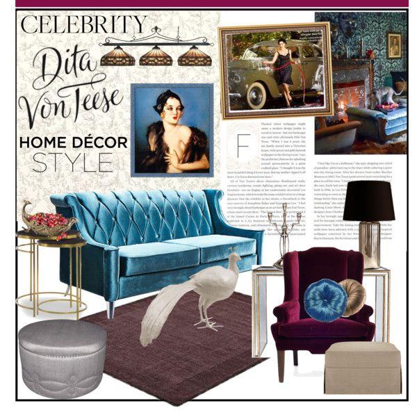 Celebrity Home Dita Von Teese Decor Home Decor Retro Home