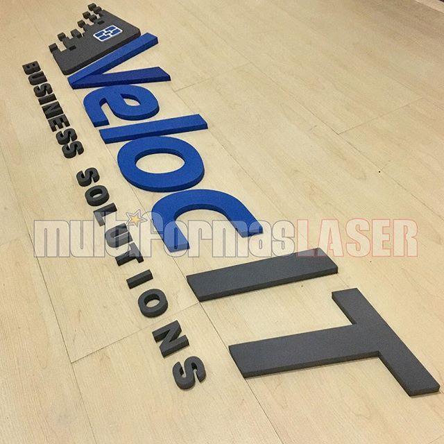 3dlogo Sign Design: 3D CUSTOM CUTOUT LOGO @multiformaslaser @multiformaslaser