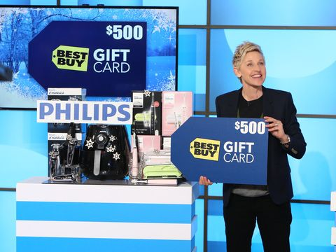 Ellen had an incredible batch of gifts for her audience. See what they won, and then enter to win them for yourself, here!