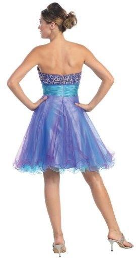 Pretty back of dress,