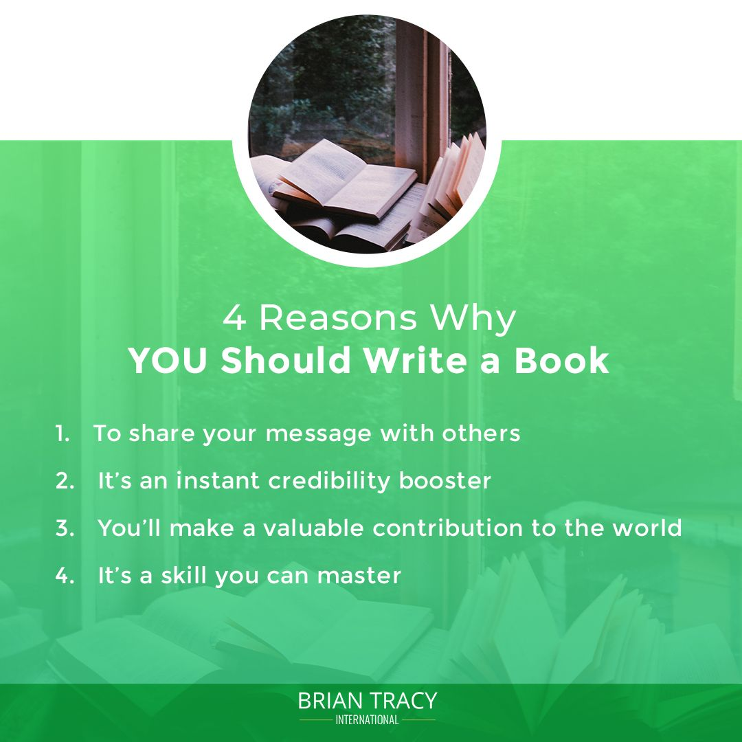 If You Re Asking Yourself Should I Write A Book The