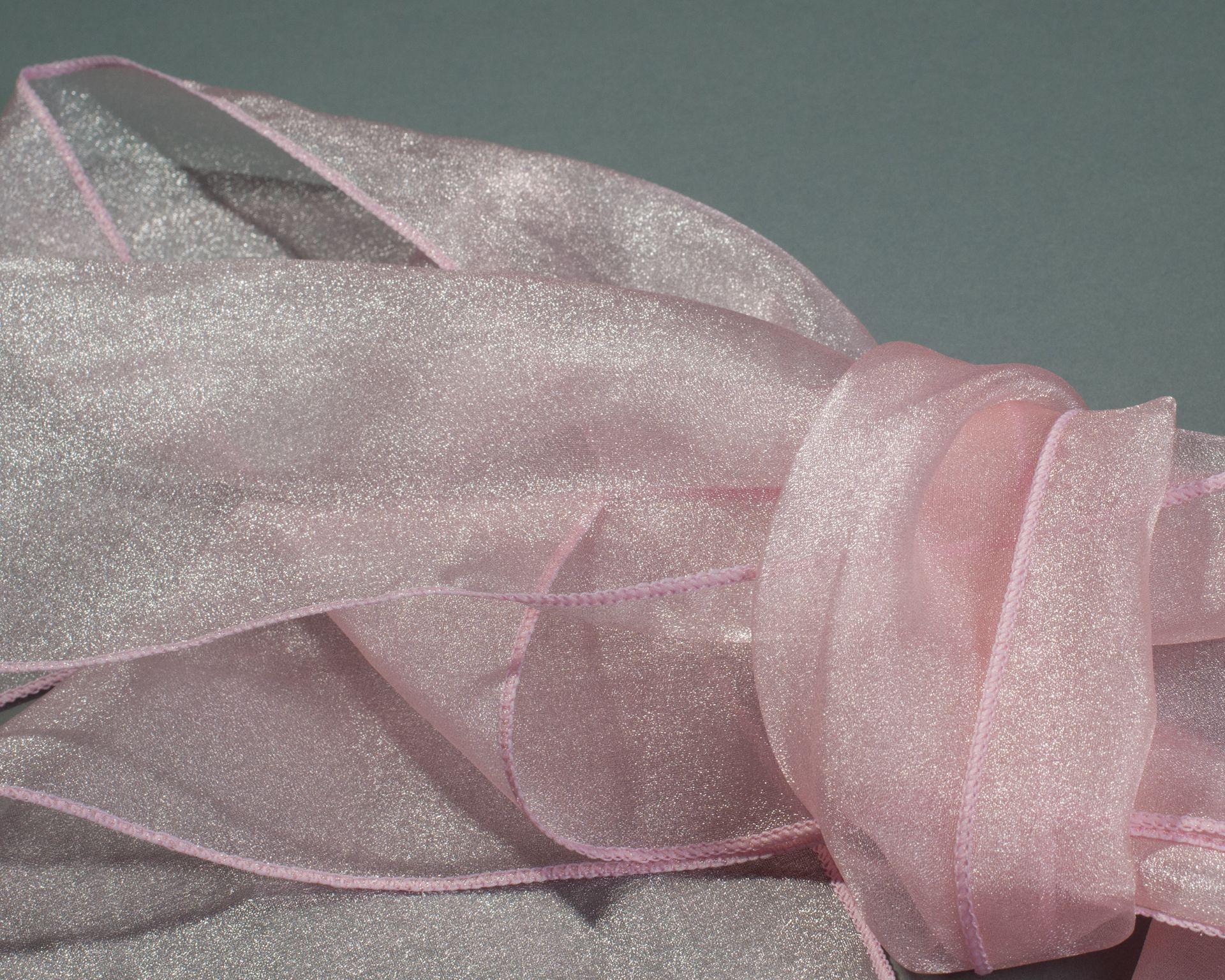 Higgins Rents Organza Pink Bows