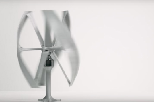 It's just an image of 3d Printable Wind Turbine within stepper motor