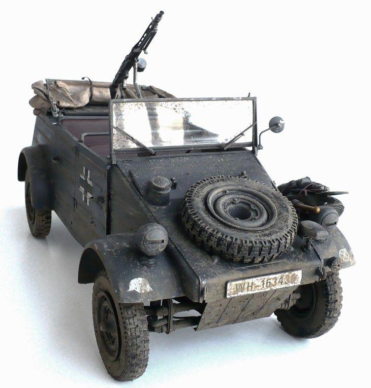 esci 39 s 1 9 scale volkswagen typ 82 k belwagen wwii. Black Bedroom Furniture Sets. Home Design Ideas