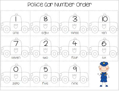 free number order worksheet and roll-n-cover game