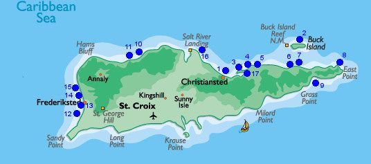 Beaches In St Croix USVI St Croix Travel St Croix Vaction - Map of us vacation spots