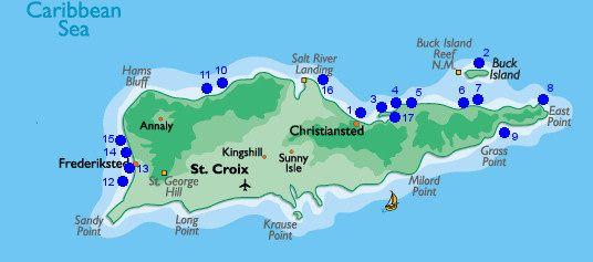 Beaches In St Croix USVI St Croix Travel St Croix Vaction - Us map vacation spots