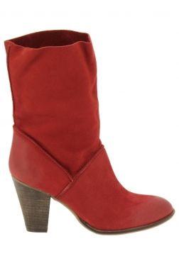 Bottines de ville spm rouge fka10611550 chaussures femme spm