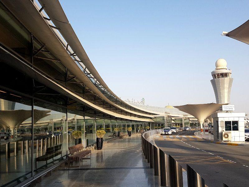 Ankunft Abu Dhabi