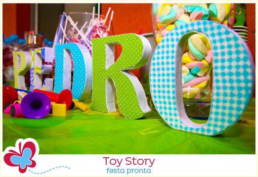 Toy Story - a festa pronta do Pedro
