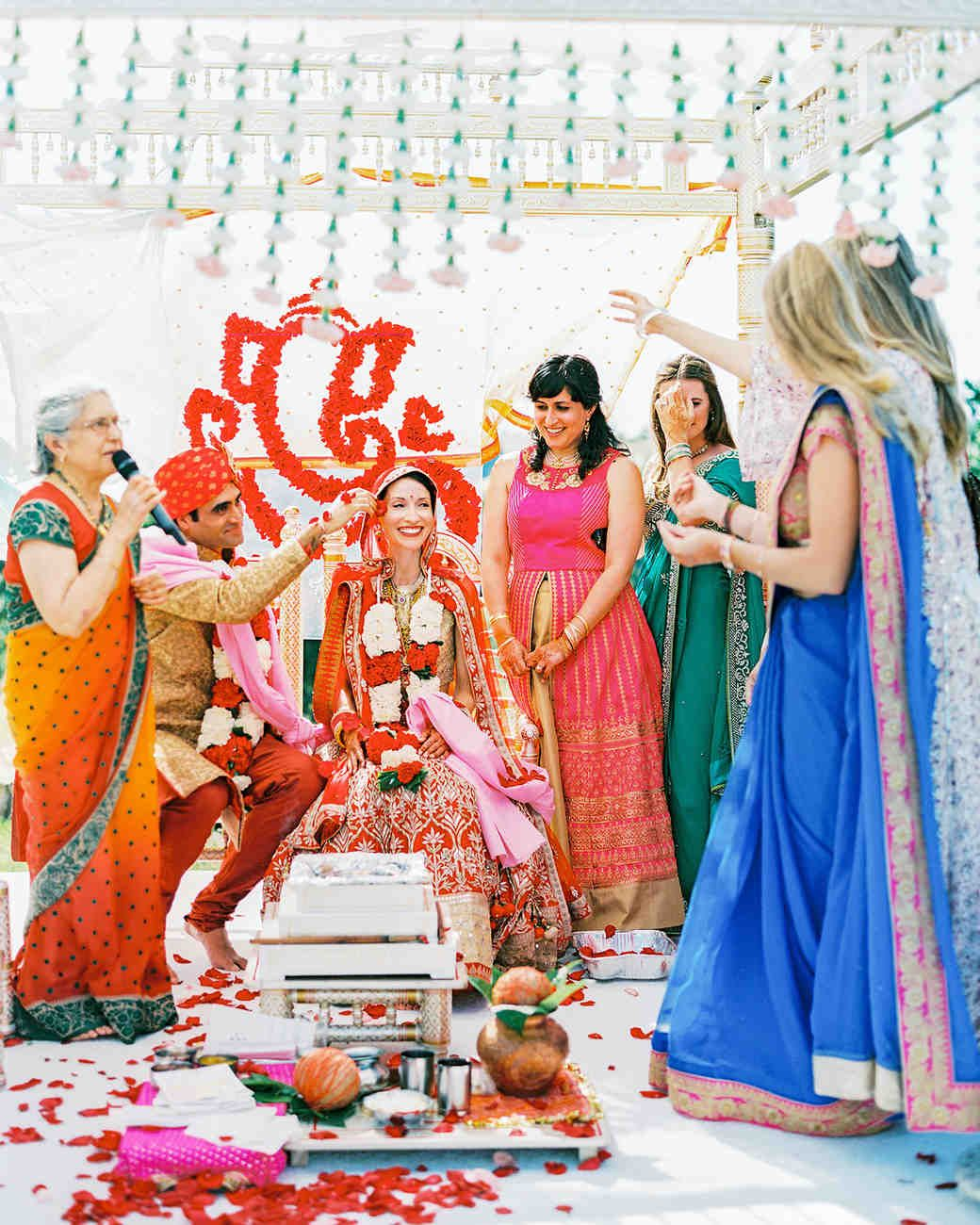 An Elegant Two-Day Wedding in California with Both an Indian and a ...