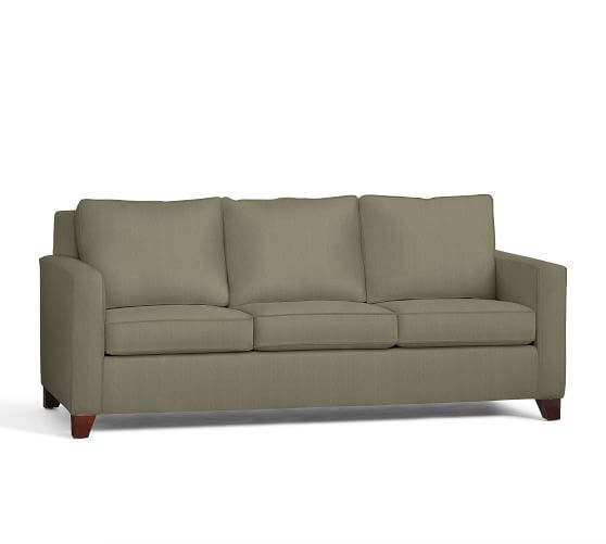 Cameron Square Arm Upholstered Sofa | Pottery Barn | Living room ...